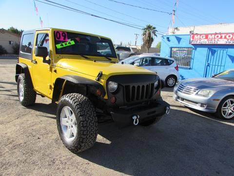 2009 Jeep Wrangler for sale at MG Motors in Tucson AZ