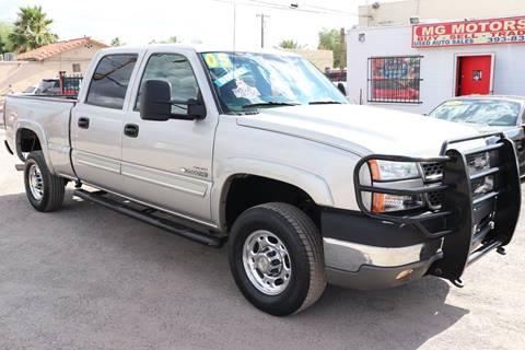 Chevrolet Silverado 2500hd For Sale In Tucson Az Mg Motors