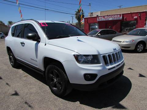 2014 Jeep Compass for sale at MG Motors in Tucson AZ