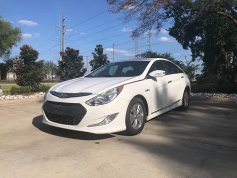 Used Hyundai Sonata >> 2013 Hyundai Sonata Hybrid For Sale In Houston Tx