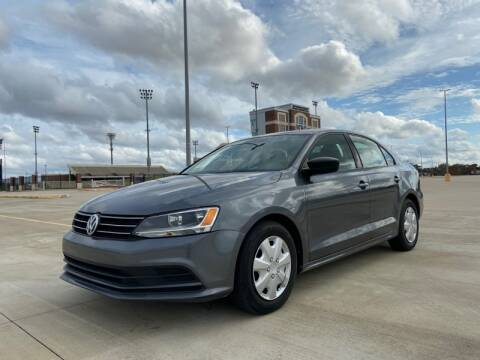 2015 Volkswagen Jetta for sale at All American Finance & Auto Sales in Houston TX