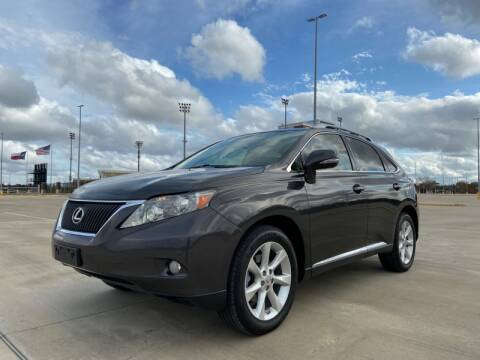 2010 Lexus RX 350 for sale at All American Finance & Auto Sales in Houston TX