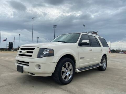 2008 Ford Expedition for sale at All American Finance & Auto Sales in Houston TX