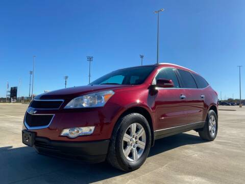 2011 Chevrolet Traverse for sale at All American Finance & Auto Sales in Houston TX