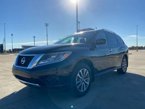 2014 Nissan Pathfinder for sale at All American Finance & Auto Sales in Houston TX