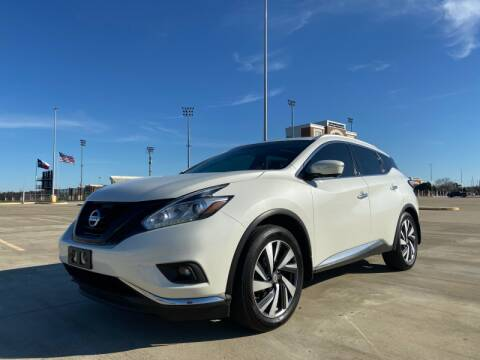 2015 Nissan Murano for sale at All American Finance & Auto Sales in Houston TX