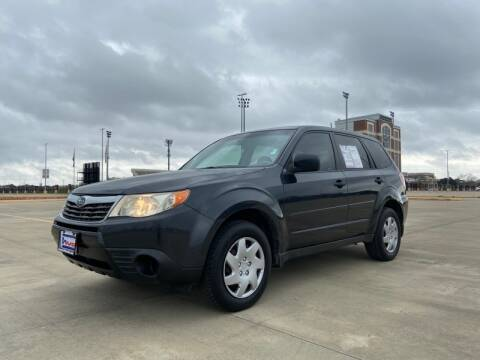 2009 Subaru Forester for sale at All American Finance & Auto Sales in Houston TX