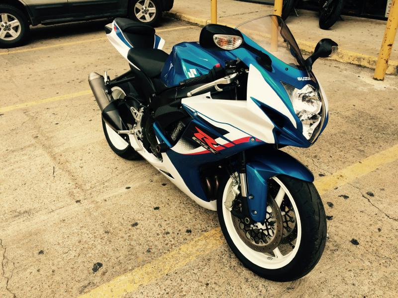 2013 Suzuki GSXR600 SPORTSBIKE - Houston TX
