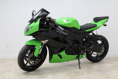 2012 Kawasaki Ninja Zx 6r For Sale In Houston Tx