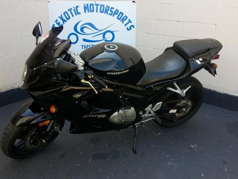 2008 Hyosung GT6 for sale at Texotic Motorsports in Houston TX