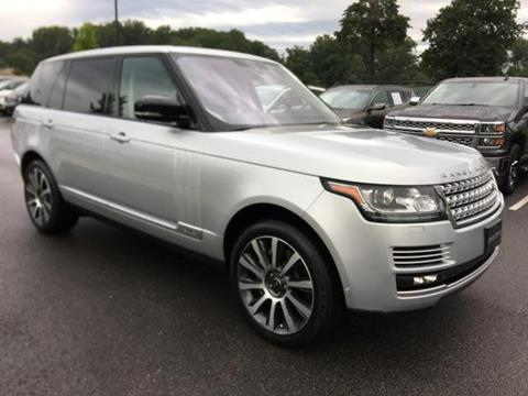 2015 Land Rover Range Rover for sale in Baltimore, MD
