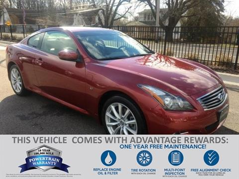 2015 Infiniti Q60 Coupe for sale in Baltimore, MD