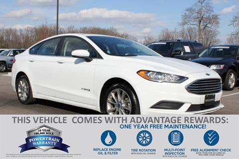 2017 Ford Fusion Hybrid for sale in Baltimore, MD
