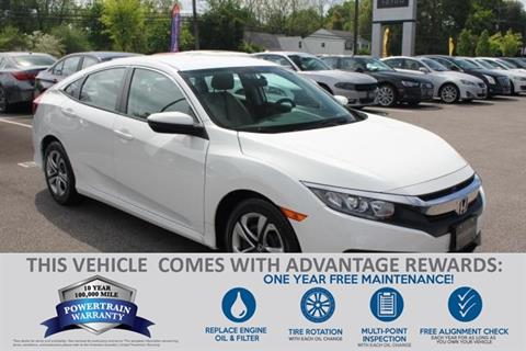 2016 Honda Civic for sale in Baltimore, MD