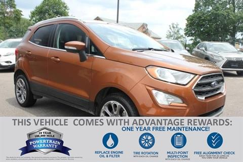 2018 Ford EcoSport for sale in Baltimore, MD
