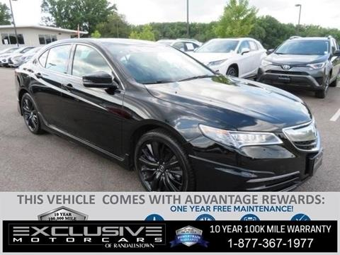 2017 Acura TLX for sale in Baltimore, MD