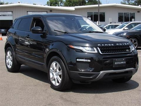 2016 Land Rover Range Rover Evoque for sale in Baltimore, MD