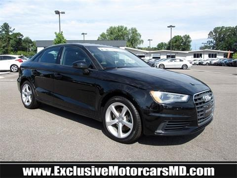2016 Audi A3 for sale in Baltimore, MD