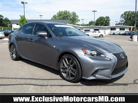 2016 Lexus IS 350 for sale in Baltimore, MD