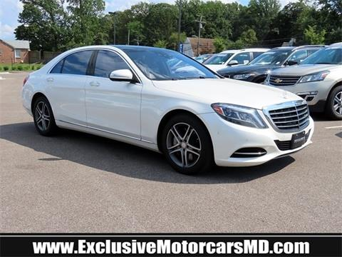 2016 Mercedes-Benz S-Class for sale in Baltimore, MD