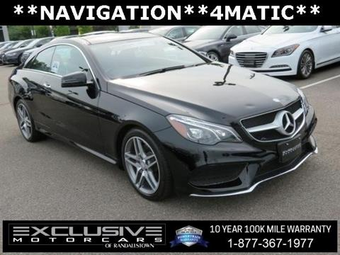 2017 Mercedes-Benz E-Class for sale in Baltimore, MD