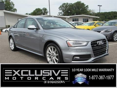 2015 Audi A4 for sale in Baltimore, MD