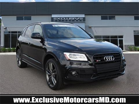 2015 Audi SQ5 for sale in Baltimore, MD