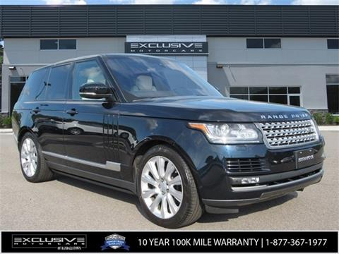 2016 Land Rover Range Rover for sale in Baltimore, MD