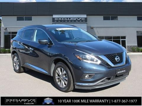 2018 Nissan Murano for sale in Baltimore, MD