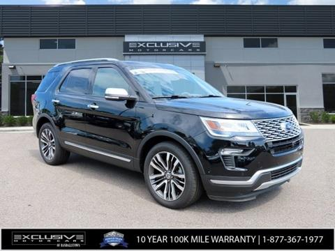 2018 Ford Explorer for sale in Baltimore, MD