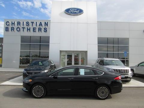 2017 Ford Fusion for sale in Crookston MN