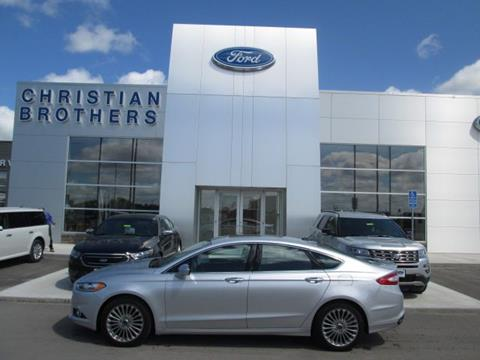 2016 Ford Fusion for sale in Crookston MN