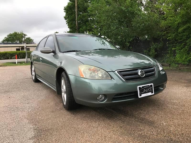 2003 Nissan Altima 3.5 SE 4dr Sedan   Houston TX