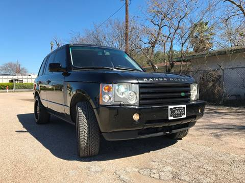 2003 Land Rover Range Rover for sale in Houston, TX