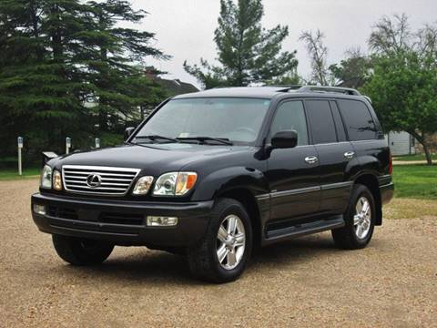 2007 Lexus LX 470 for sale at ANZ Auto llc in Fredericksburg VA