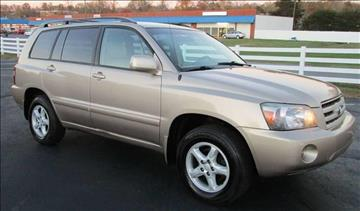 2004 Toyota Highlander for sale in Fredericksburg, VA