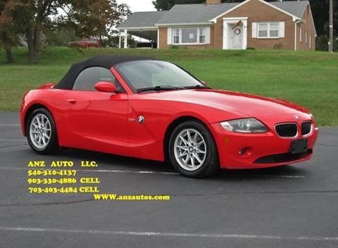 2005 BMW Z4 for sale in Fredericksburg, VA