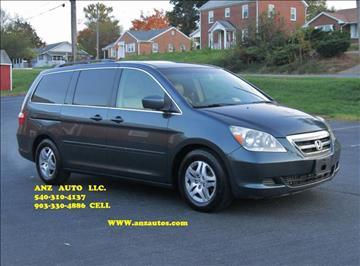 2005 Honda Odyssey for sale in Fredericksburg, VA