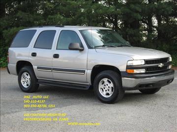 2004 Chevrolet Tahoe for sale in Fredericksburg, VA
