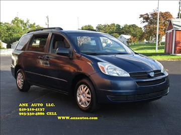 2004 Toyota Sienna for sale in Fredericksburg, VA