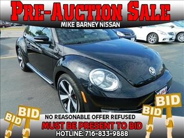 2012 Volkswagen Beetle for sale in Amherst, NY