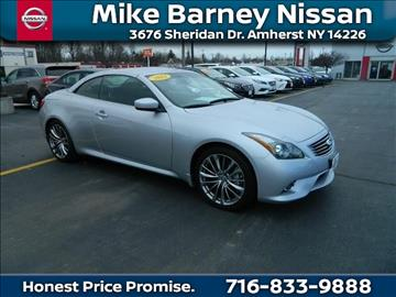 2013 Infiniti G37 Convertible for sale in Amherst, NY