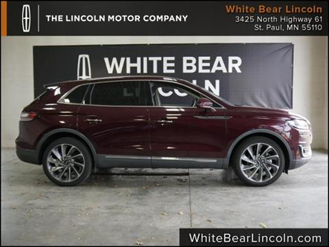 2019 Lincoln Nautilus for sale in White Bear Lake, MN