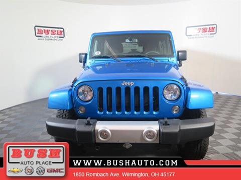 2015 Jeep Wrangler Unlimited for sale in Wilmington, OH