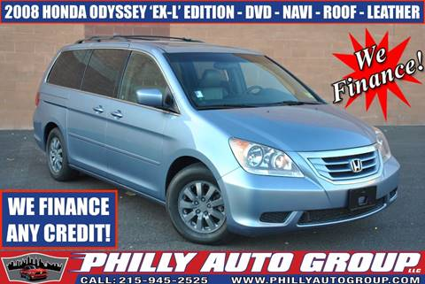 2008 Honda Odyssey for sale in Levittown, PA
