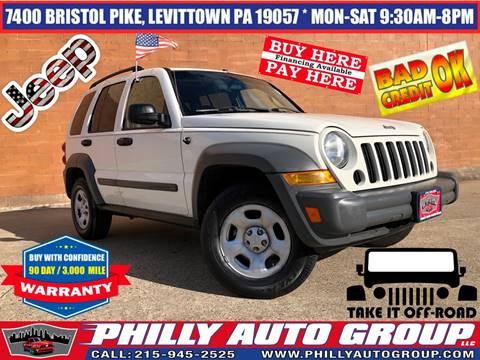 2005 Jeep Liberty for sale in Levittown, PA