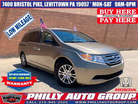 2012 Honda Odyssey for sale in Levittown, PA