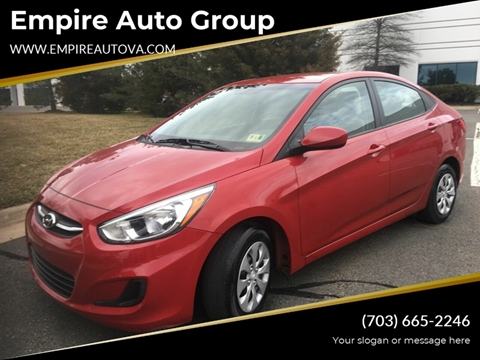 2017 Hyundai Accent for sale in Sterling, VA