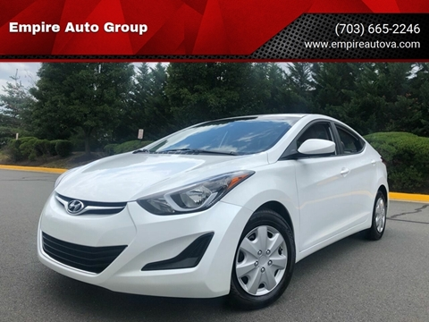 2016 Hyundai Elantra for sale in Sterling, VA