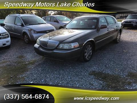 Lincoln town car for sale in louisiana for Speedway motors lake charles
